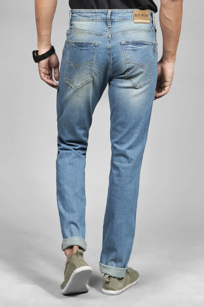 Darwin Tinted Blue Jeans
