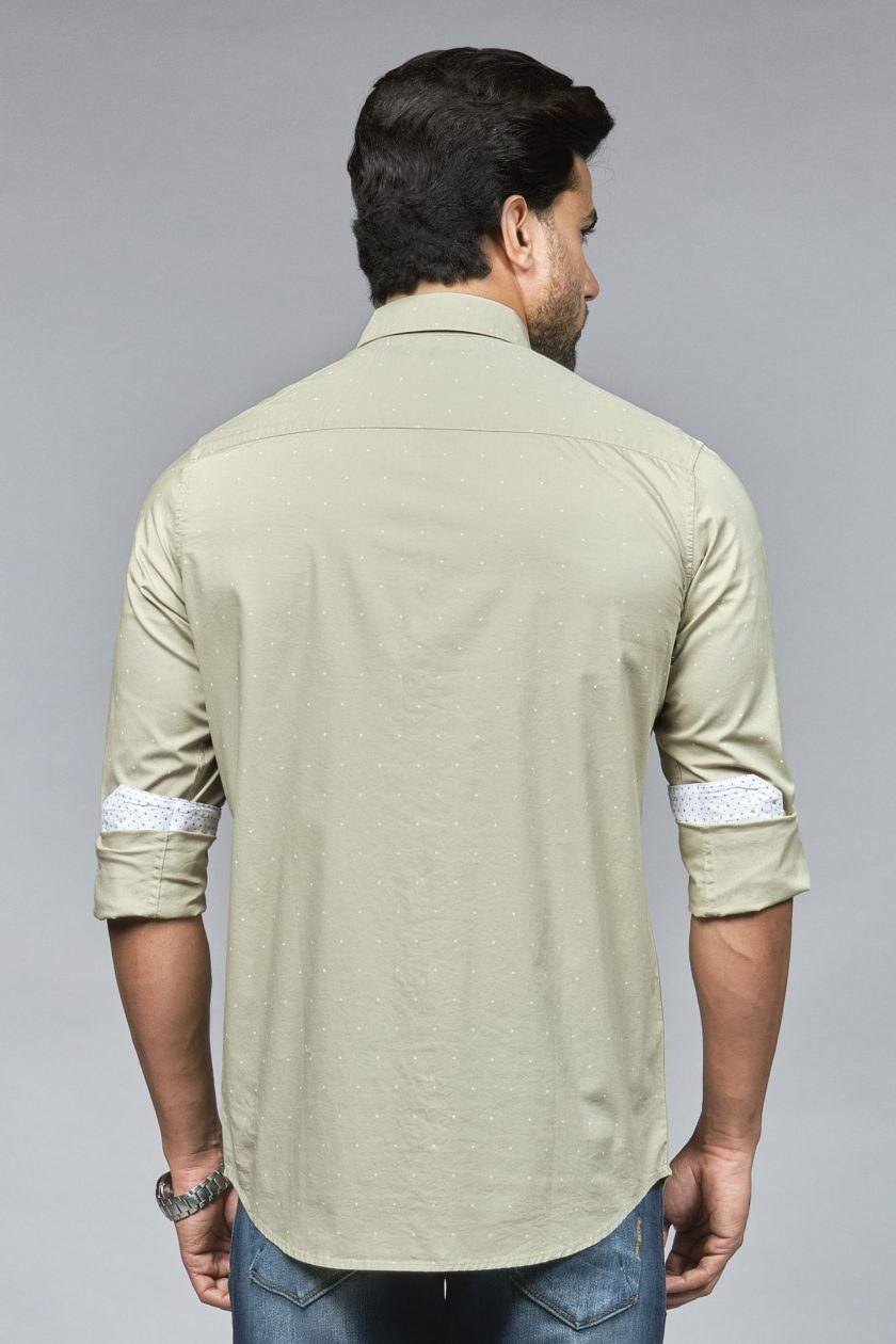 Coruscate Pale Olive Green Shirt