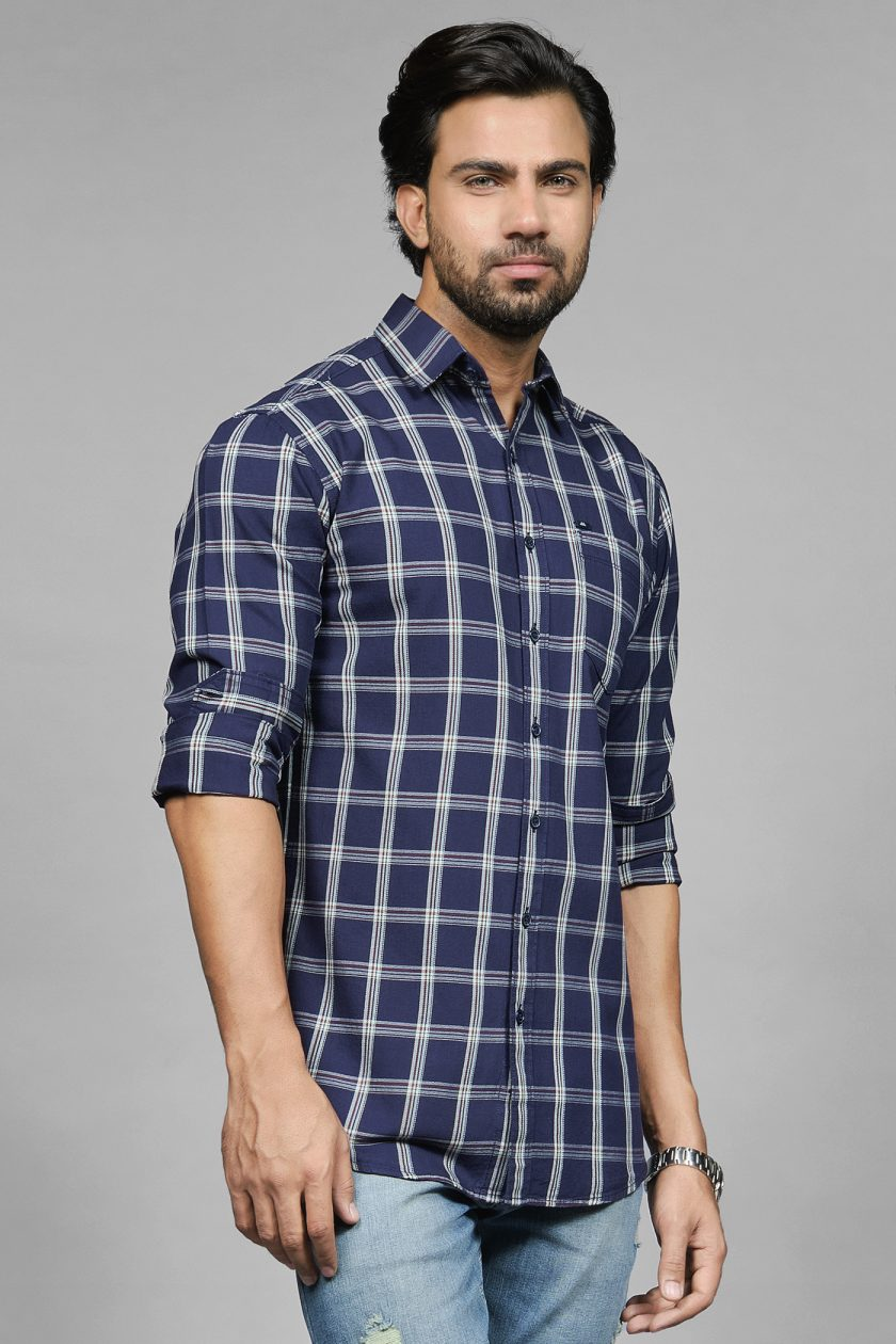 Trouvaille Navy Shirt